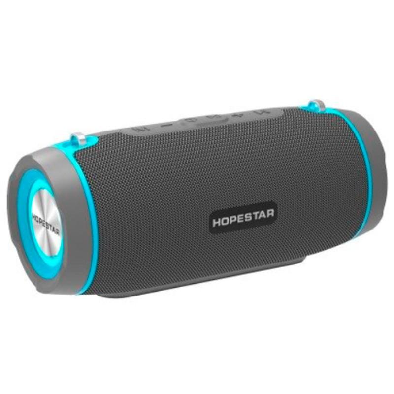 Портативная беспроводная Bluetooth колонка Hopestar Original Hopestar H45 Party Grey Speaker