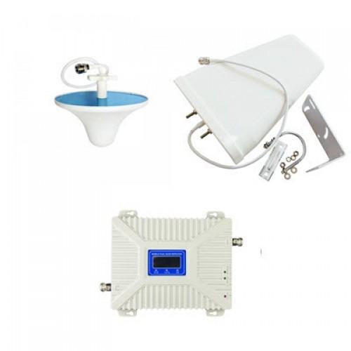 Комплект антенн с 2G/3G/4G усилителем мобильной связи и интернета 900/1800