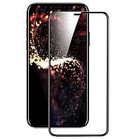 Захисне скло 5D Premium (Full Glue) iPhone XR Чорне