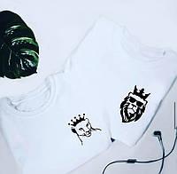 """Парные футболки """" Lion and Lioness"""""""