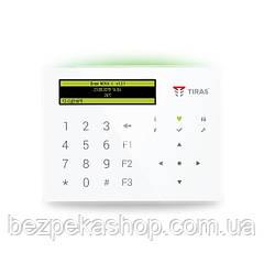 Клавіатура K-GLCD (white)