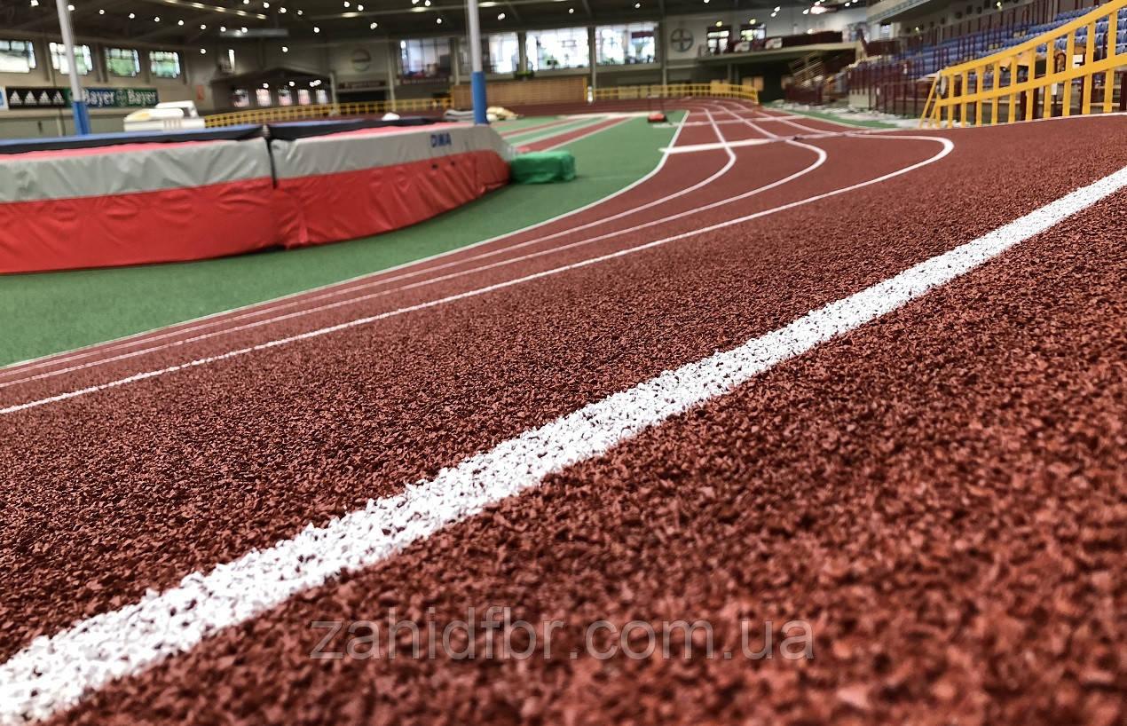 Укладка наливного бесшовного резинового покрытия для спортивных и детских площадок