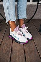 Женские кроссовки adidas Ozweego Grey Purple Адидас Озвиго серые EF4050, фото 2