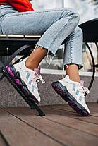 Женские кроссовки adidas Ozweego Grey Purple Адидас Озвиго серые EF4050, фото 3
