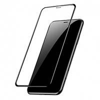 Захисне скло 5D Premium (Full Glue) Apple iPhone 11 Pro Max Черный