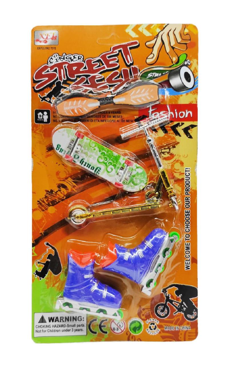 "Набор ""Street sesh"" фингер игрушки 012-A7"