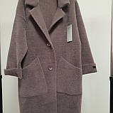 Пальто-кардиган с рукавом 7/8 из шерсти альпака, фото 2