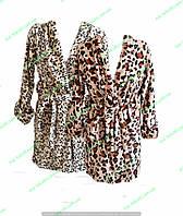 Халат женский теплый короткий,женская одежда от производителя,полтавский трикотаж,интернет магазин,велсофт