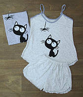 Пижама женская летняя,женская одежда от производителя,комсомольский женский трикотаж,интернет магазин,стрейч