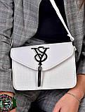 Женская сумка клатч белая код 7-8006, фото 2