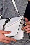 Женская сумка клатч белая код 7-8006, фото 4