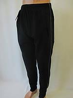 Теплые трикотажные штаны с манжетом мужские.