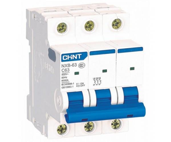 Автоматичний вимикач Chint NXB-63 1р B16 6kA