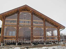 Шторы ПВХ для веранд, террас,беседок. Прозрачные мягкие окна, фото 3