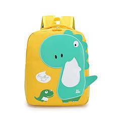 Дитячий рюкзак Tyrannosaur Lesko 201026 Yellow об'єм 20L з тиранозаврів