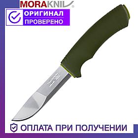 Нож Morakniv Bushcraft Forest с лезвием из нержавеющей стали Моракнайв резиновая ручка
