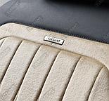 Чехлы 3D с алькантары Elegant Modena на передние и задние сидения автомобиля EL 700 134 бежевые, фото 3
