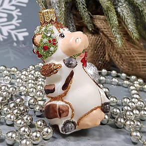 Корова и сердечко (2шт) набор игрушек Irena, фото 2