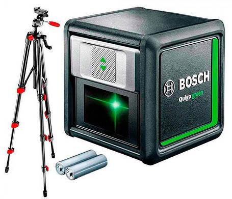 Лазерный нивелир Bosch Quigo green Set 0603663C01, фото 2