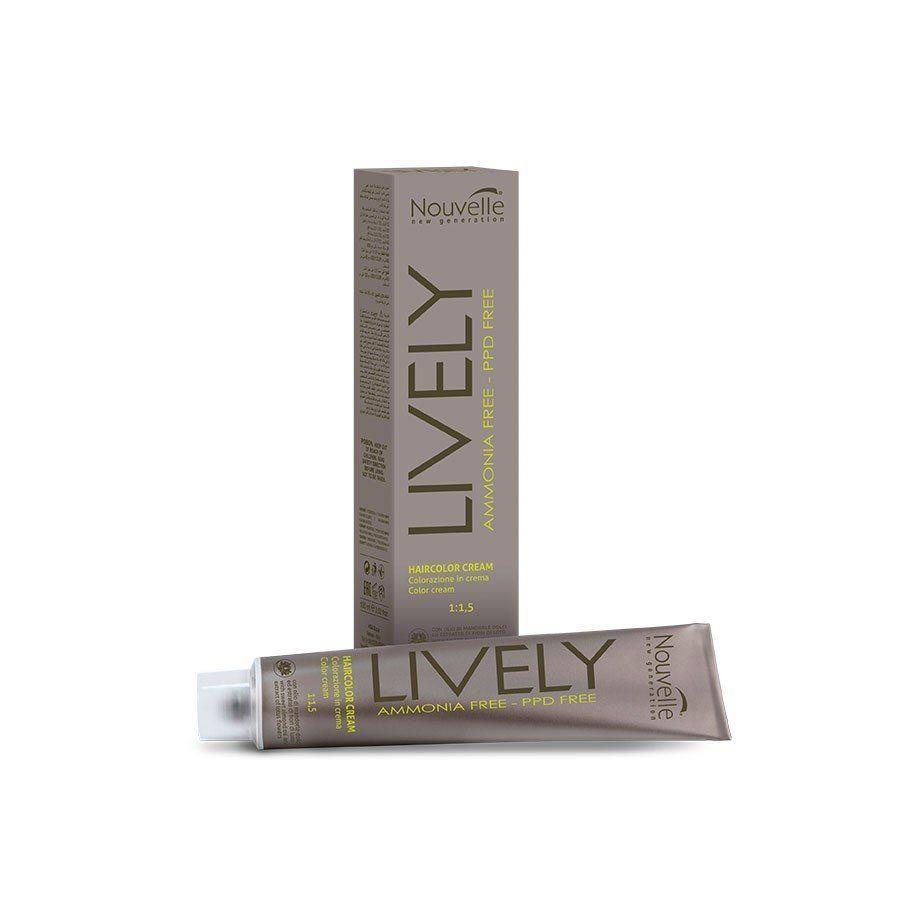 Nouvelle Lively краска для волос безамиачная 100 мл