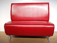 """Двухместный диван """"Бистро"""" для кафе и ресторана от мебельной фабрики"""