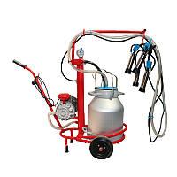 Домашний доильный аппарат для одной коровы
