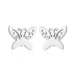Сережки гвоздики Сталевий метелик