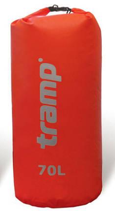 Гермомешок Tramp Nylon PVC 70 красный, фото 2