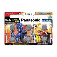 Батарейка Panasonic CR2032 (6шт.)