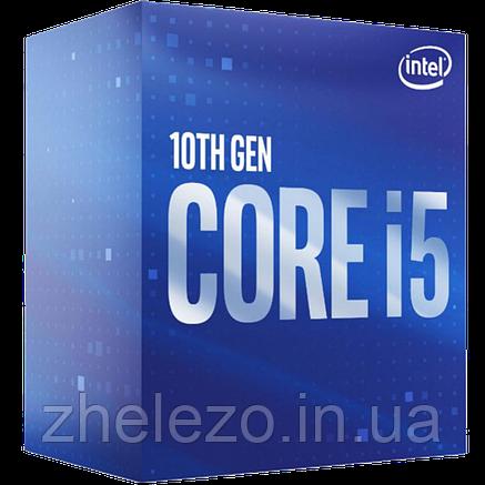 Процессор Intel Core i5 10400F 2.9GHz (12MB, Comet Lake, 65W, S1200) Box (BX8070110400F), фото 2