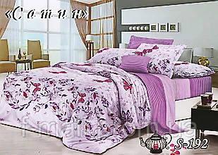 Комплект постельного белья Тет-А-Тет ( Украина ) Сатин полуторное (S-192)