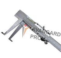 Штангенциркуль для вимірювання внутрішнього пазу 10-160 Л75 одинарний