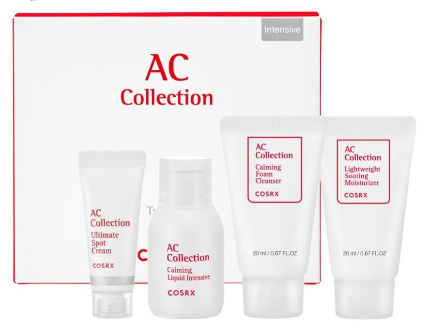 Набор средств для проблемной кожи COSRX AC Collection Trial Kit Intensive (4 step)
