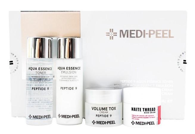 Преміум-косметика з пептидами Medi-Peel Peptide 9 Skincare Trial Kit 30 мл, 30 мл, 10 мл, 10 мл