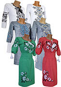 Женские вышитые платья