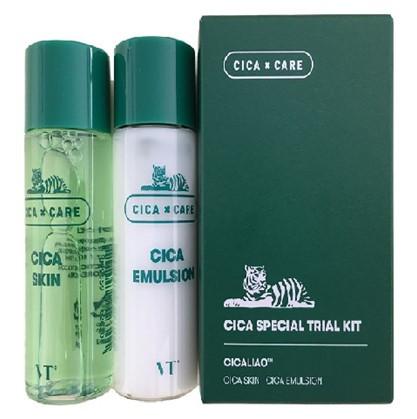 Тонер і емульсія з центеллой VT Cosmetics Cica Special Trial Travel Kit 2х30 мл