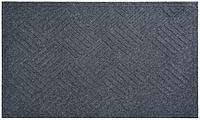 Коврик придверный на резиновой основе YPR К-504 серый 80х120см