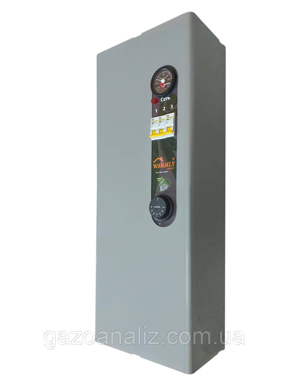 Электрокотел Warmly Classik MG 4,5 кВт  220в/380в. Модульный контактор (т.х)