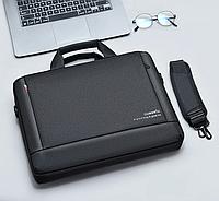 """Сумка, портфель для ноутбука или документов 15,6"""" Dumantu, цвет черній ( код: N017B )"""