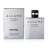 Chanel Allure homme Sport, мужская туалетная вода, edt 50 мл