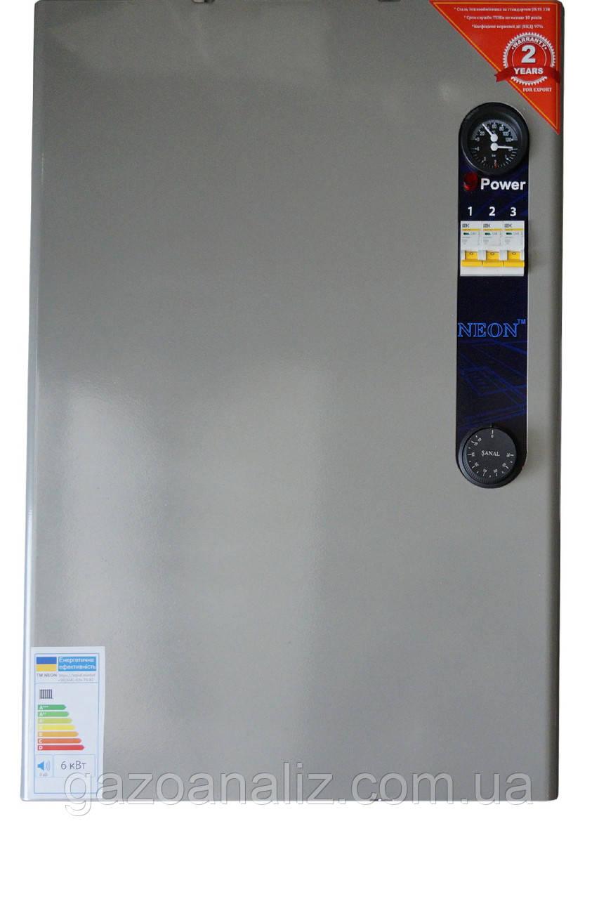 Электрокотел NEON PRO 12 кВт 380в. Магнитный пускатель