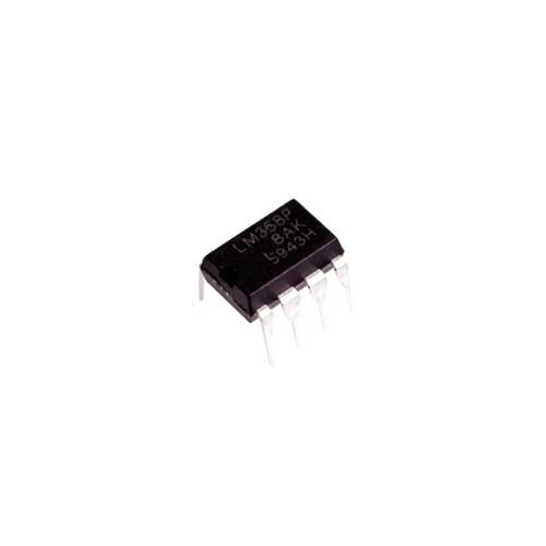 Чіп LM358P LM358 DIP8, Операційний підсилювач 2-канальний