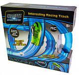 Светящиеся трубопроводные гонки CHARIOTS SPEED PIPES, трубопроводный автотрек, гоночный трек 27 детали, фото 2