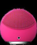 Электрическая щетка массажер для чистки кожи лица Foreo LUNA Mini 2, Розовый, фото 3