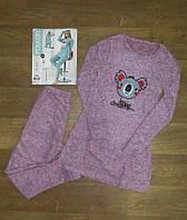Женская пижама с вышивкой (туника + лосины) Турция,интернет магазин,женская одежда Турция,ангора