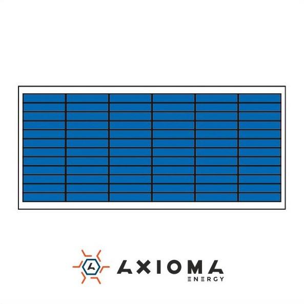 Солнечная батарея (панель) 65Вт, поликристаллическая AX-65P, AXIOMA energy