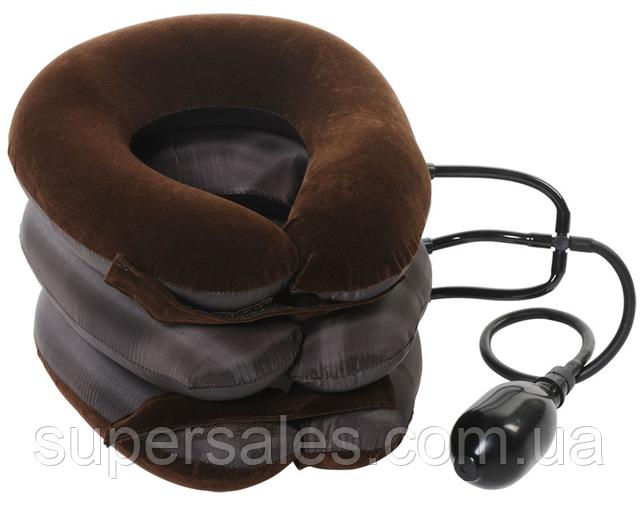 Надувной массажер для шеи Tractors For Cervical Spine, ортопедическая подушка воротник