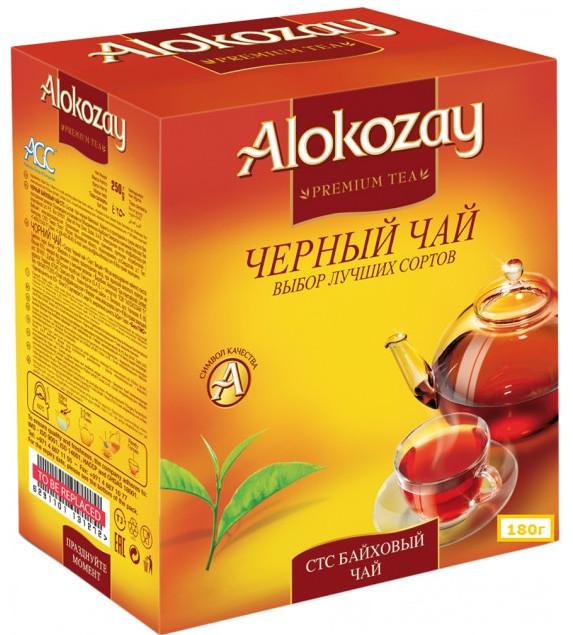 Чай Алокозай СТС черный гранулированный 180 грамм