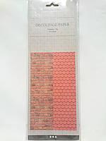 Бумага для декупажа 10листов 8