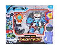 """Трансформер """"Тобот: Дельтатрон"""" с фигуркой, трансформер,детские машинки,тачки,машинки на пульте"""